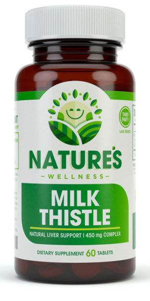 Milk Thistle Front Bottle