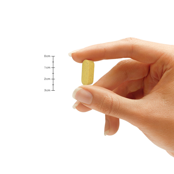 Great Hair Pill Size Hand Comparison