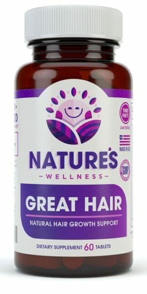 Great Hair Formula Supplement Front Bottle