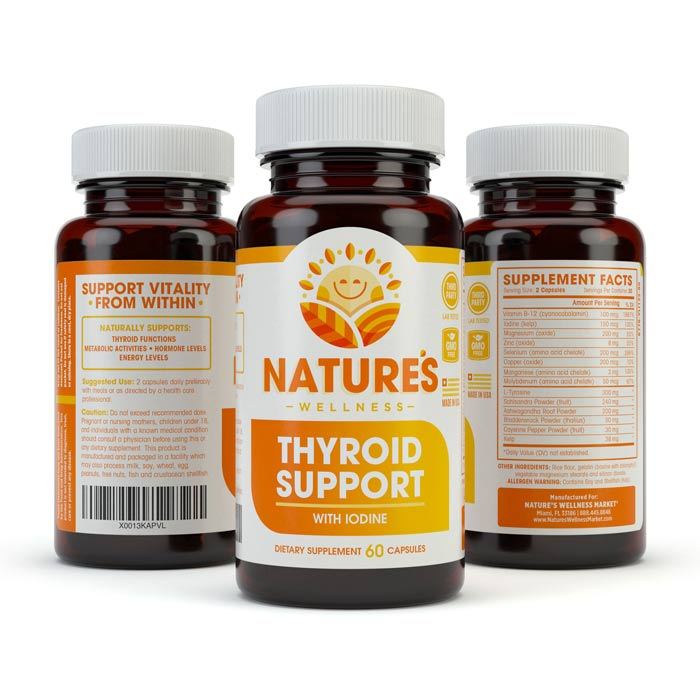 THYROID SUPPORT 3 Bottle