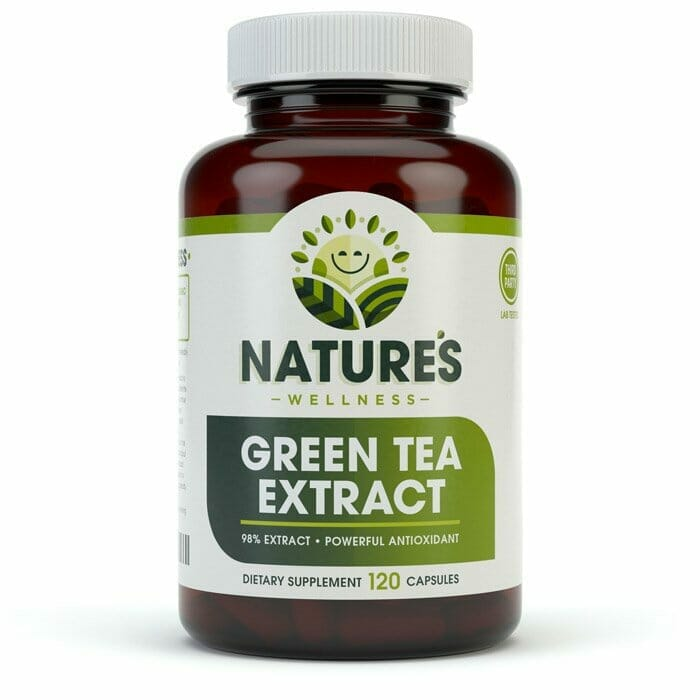 Green Tea 98% Extract - Supports Heart Health