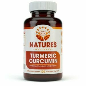 Turmeric Curcimin with BioPerine Front Bottle Brown